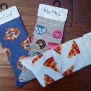 Snack Socks - Pizza, Pretzels, Donuts & Coffee